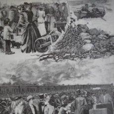 Arte: DE VERANEO MENDEZ BRINGA AÑO 1891. Lote 115569431