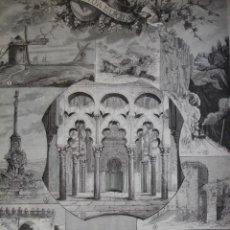 Arte: DE MADRID A CORDOBA PUERTA DE ALMODOVAR MALMUERTA COLUMNA DE SAN RAFAEL LA MANCHA AÑO 1891. Lote 115569579