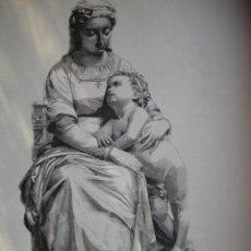Arte: LA VIRGEN MADRE D J SAMSO AÑO 1891. Lote 115569699
