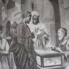 Arte: CAMBIANTE DE MONEDA EN EGIPTO AÑO 1891. Lote 115569759