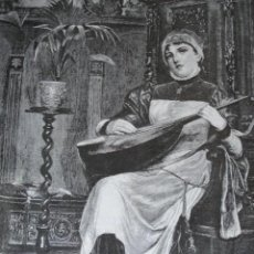 Arte: SOLA A SELLER AÑO 1891. Lote 115569811