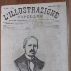 Arte: XILOGRAFIA L.ILLUSTRAZIONE POPULARE N°23 STANISLAO FIGERAS ESPAÑA 1873. Lote 121600548