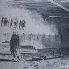 Arte: CASA DEL POETA CHORBI TETUAN GUERRAS EN AFRICA .AÑO 1859. Lote 127188903