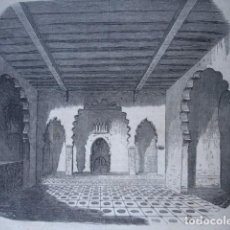 Arte: CASA DE ERZINI EN TETUAN GUERRAS EN AFRICA .AÑO 1859. Lote 127196163
