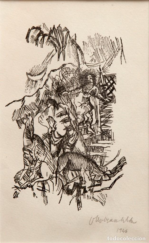 Oskar Kokoschka 1886 1980 Xilografia Firmad Sold At