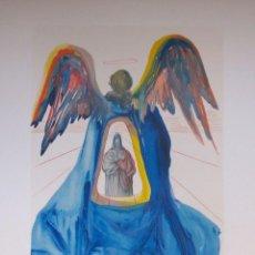 Arte: SALVADOR DALI - DIVINA COMEDIA. XILOGRAFIA ORIGINAL 1960. 33 X 26 CM. Lote 129380627
