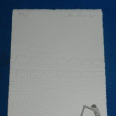 Arte: (MF) XILOGRAFIA ESCENA TAUROMAQUIA ( TOROS ) FIRMADA ALBERTO MARTINEZ ( BURGOS ) NUMERADA 52/75. Lote 129541051