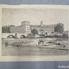 Arte: LEON. MONUMENTO SAN MARCOS. - XILOGRAFIA DE LA ILUSTRACION ESPAÑOLA Y AMERICANA. ABRIL 1883.+ INFO.. Lote 130617066