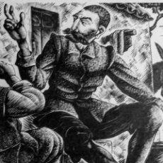 Arte: XILOGRAFÍA DE E. C. RICART. ILUSTRACIÓN DE DON QUIXOTE OF LA MANCHA THE LIMITED EDITIONS N. YORK.. Lote 132538582