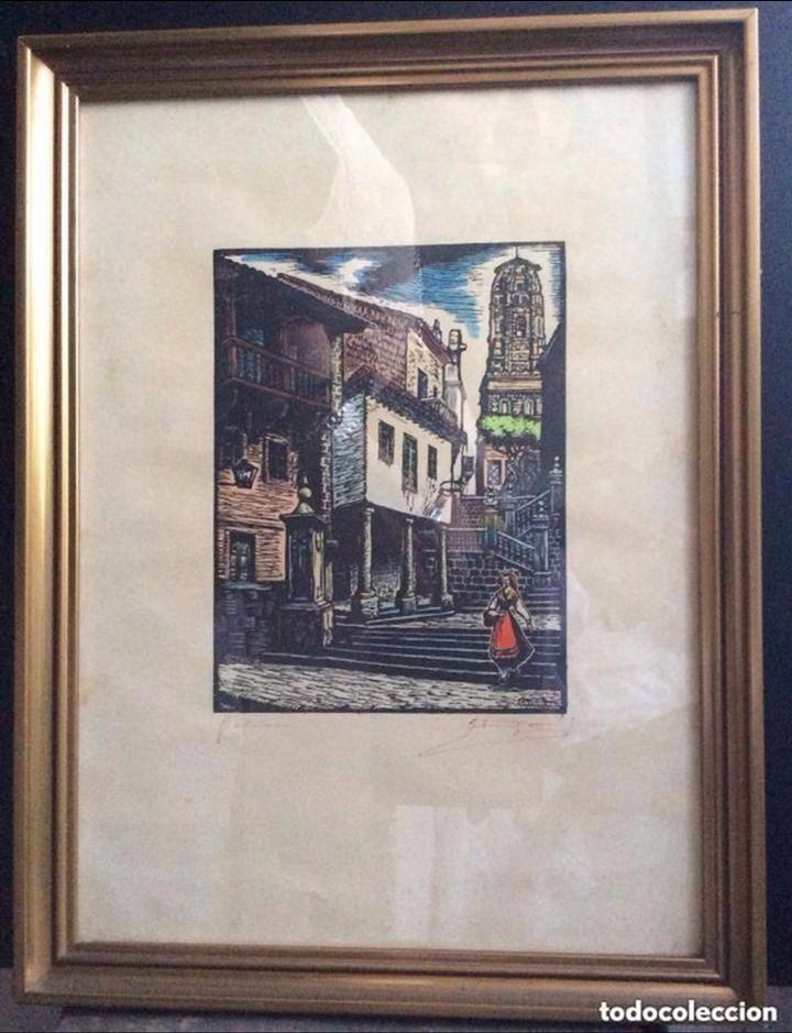 GALICIA -XILOGRAFIA- DEL GRABADOR – JOAN CASTELLS I MARTÍ (1906 – 1980), (Arte - Xilografía)