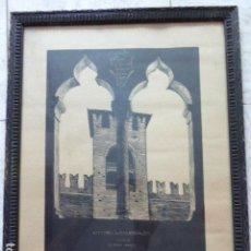 Arte: XILOGRAFIA ORIGINAL FIRMADA Y CON DEDICATORIA A LA SEÑORITA KARMENSKY DE VITTORIO DI COLBERTALDO. 40. Lote 133814938