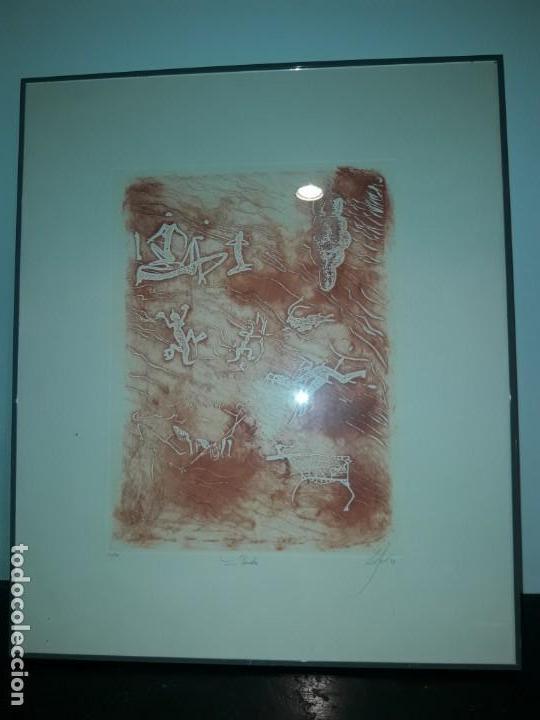 CALIGRAFÍA (Arte - Xilografía)