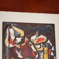 Arte: RAMON POLIT.XILOGRAFIA.. Lote 138111970