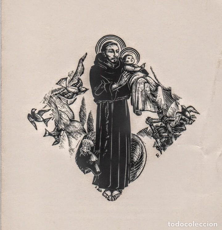 XILOGRAFÍA DE ENRIC C RICART PARA NADALA 1939.MASIA BASSA DEL JUST. EDITOR TORRELL DE REUS (Arte - Xilografía)