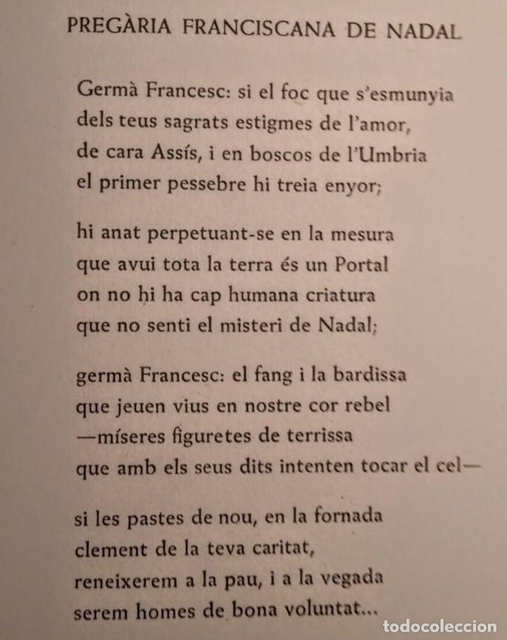 Arte: Xilografía de Enric C Ricart para nadala 1939.Masia Bassa del Just. Editor Torrell de Reus - Foto 3 - 139483038