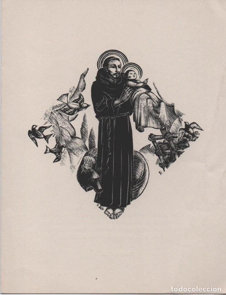 Arte: Xilografía de Enric C Ricart para nadala 1939.Masia Bassa del Just. Editor Torrell de Reus - Foto 4 - 139483038