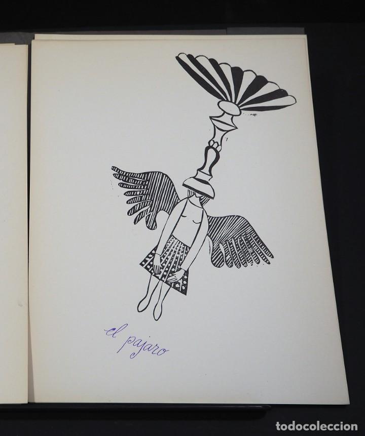 Arte: LUIS DE HORNA. CON ESTA MANO. CARPETA DE 8 XILOGRAFIAS. Ejemplar 56/75. Año 1963 - Foto 6 - 139826106