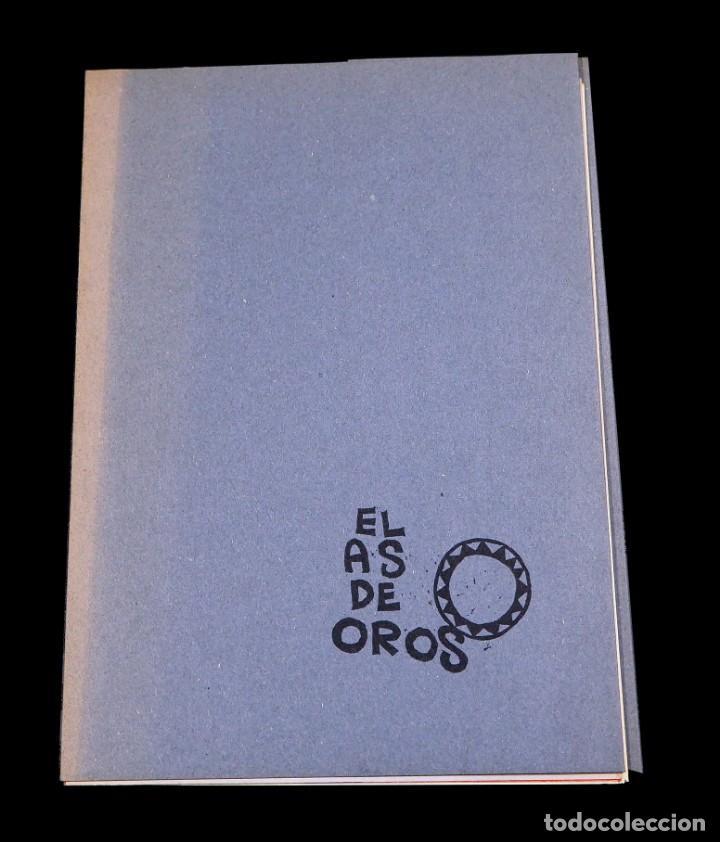 Arte: LUIS DE HORNA. EL AS DE OROS. CARPETA CON 11 XILOGRAFÍAS. EDICIÓN DE 100 EJEMPLARES - Foto 2 - 139834790