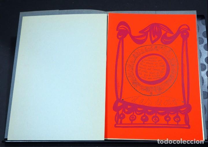 Arte: LUIS DE HORNA. EL AS DE OROS. CARPETA CON 11 XILOGRAFÍAS. EDICIÓN DE 100 EJEMPLARES - Foto 4 - 139834790