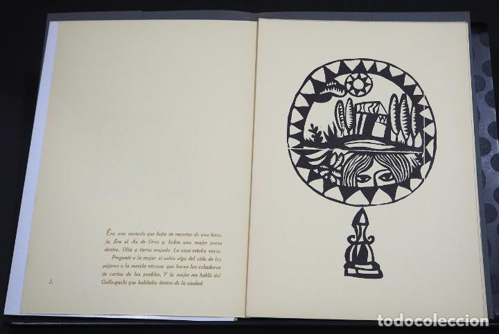 Arte: LUIS DE HORNA. EL AS DE OROS. CARPETA CON 11 XILOGRAFÍAS. EDICIÓN DE 100 EJEMPLARES - Foto 6 - 139834790