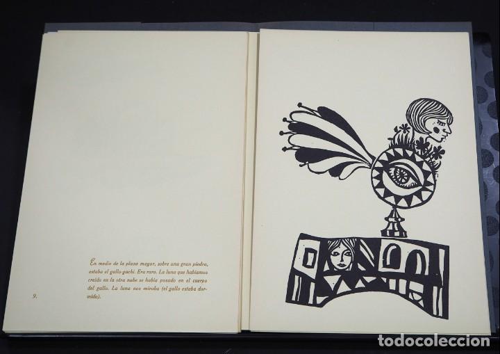Arte: LUIS DE HORNA. EL AS DE OROS. CARPETA CON 11 XILOGRAFÍAS. EDICIÓN DE 100 EJEMPLARES - Foto 7 - 139834790