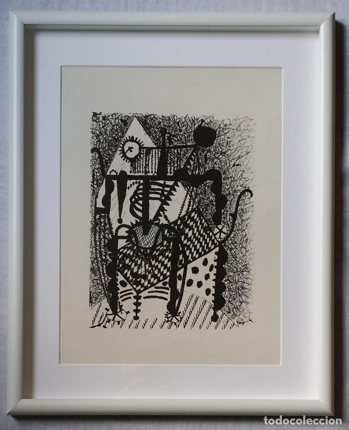 Arte: Pablo PICASSO, Helene chez Archimede, xilografía de 1955, 240 ejemplares - Foto 2 - 140536026