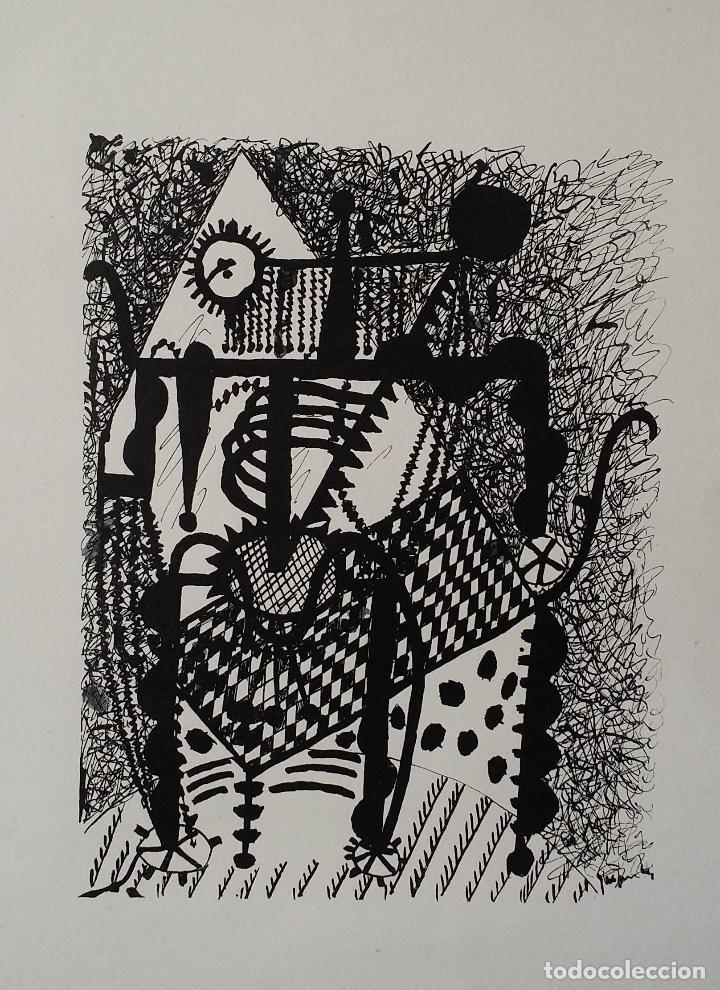 Arte: Pablo PICASSO, Helene chez Archimede, xilografía de 1955, 240 ejemplares - Foto 3 - 140536026