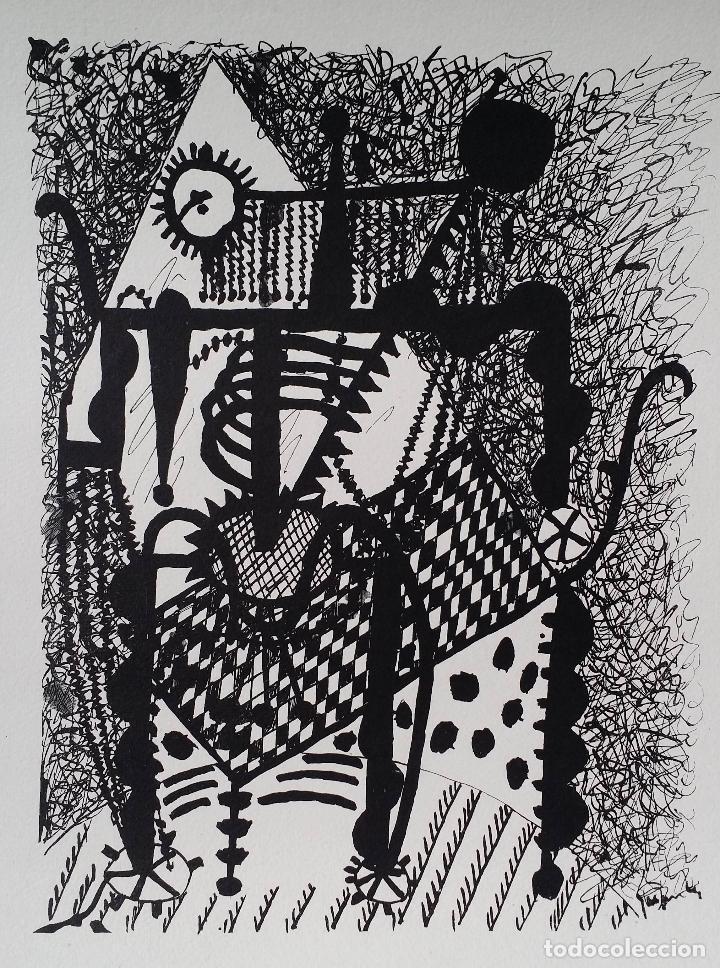 Arte: Pablo PICASSO, Helene chez Archimede, xilografía de 1955, 240 ejemplares - Foto 4 - 140536026