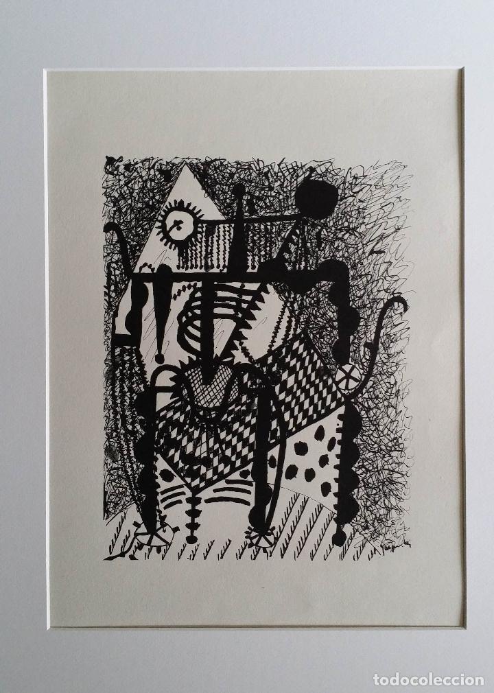 Arte: Pablo PICASSO, Helene chez Archimede, xilografía de 1955, 240 ejemplares - Foto 6 - 140536026