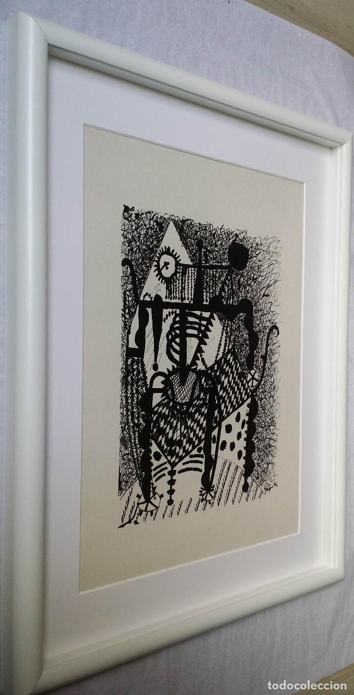 Arte: Pablo PICASSO, Helene chez Archimede, xilografía de 1955, 240 ejemplares - Foto 8 - 140536026