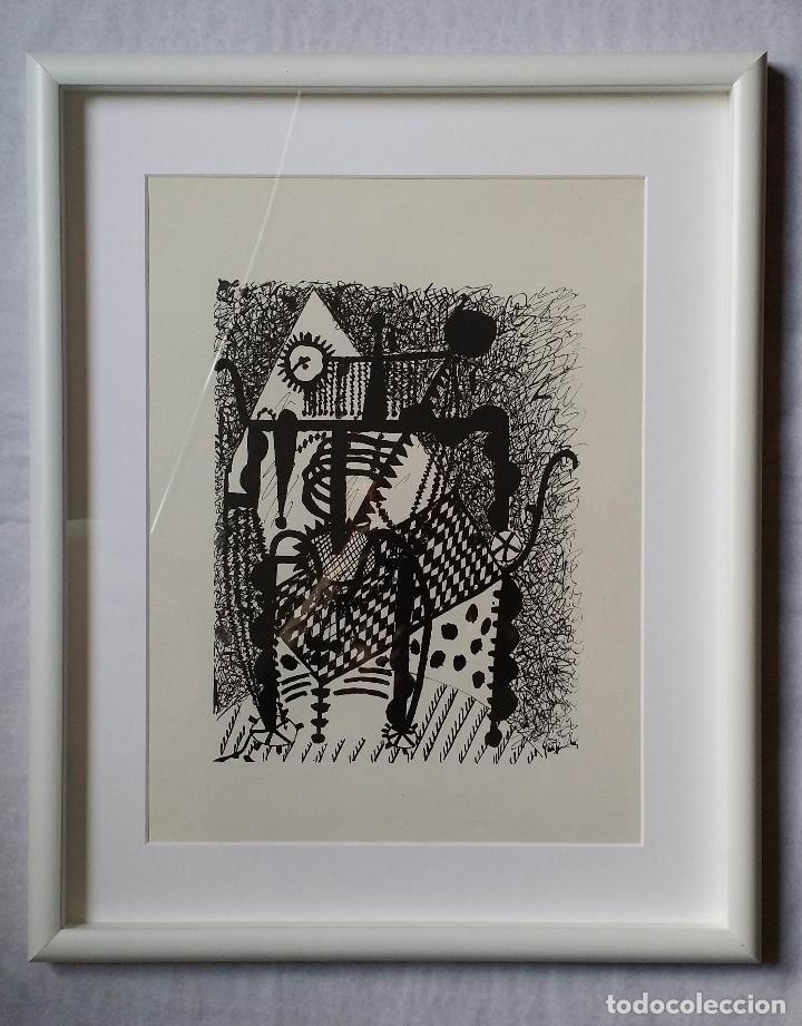 Arte: Pablo PICASSO, Helene chez Archimede, xilografía de 1955, 240 ejemplares - Foto 9 - 140536026