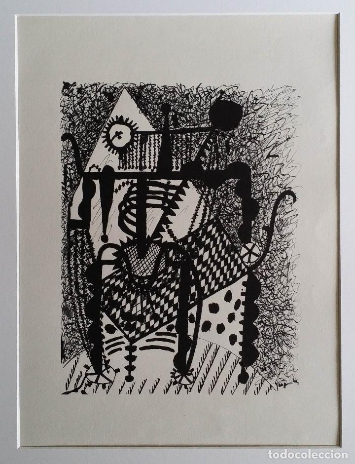 Arte: Pablo PICASSO, Helene chez Archimede, xilografía de 1955, 240 ejemplares - Foto 10 - 140536026