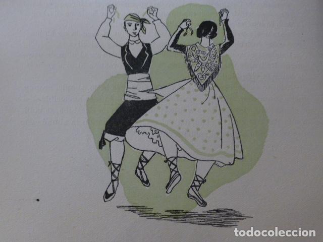 ARAGON LA JOTA XILOGRAFIA AÑOS 40 (Arte - Xilografía)