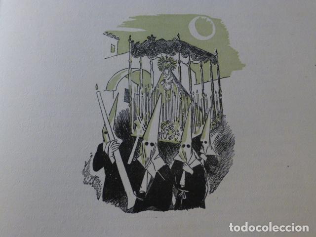 SEVILLA SEMANA SANTA XILOGRAFIA AÑOS 40 (Arte - Xilografía)