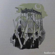 Arte: SEVILLA SEMANA SANTA XILOGRAFIA AÑOS 40. Lote 140804966