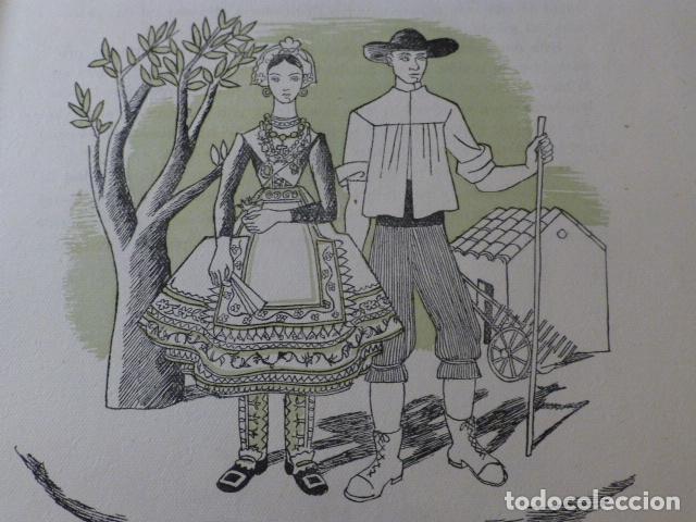 LAGARTERA TOLEDO XILOGRAFIA AÑOS 40 (Arte - Xilografía)