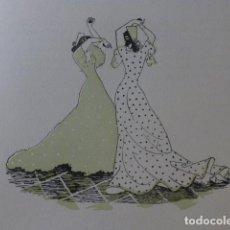 Arte: ANDALUCIA BAILE XILOGRAFIA AÑOS 40. Lote 140805398