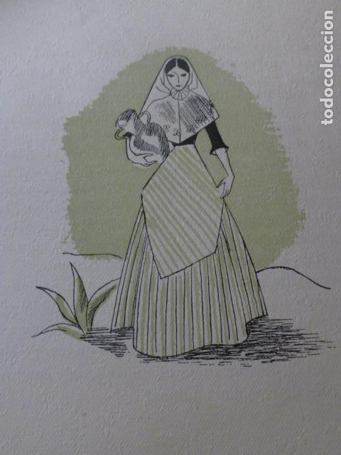 IBIZA IBICENCA XILOGRAFIA AÑOS 40 (Arte - Xilografía)