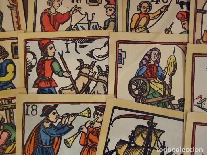 Arte: COLECCION DE XILOGRAFIAS TINELL BARCELONA COLOREADAS A MANO - 13 UNIDADES 12X12 CM BUEN ESTADO - Foto 3 - 142551790