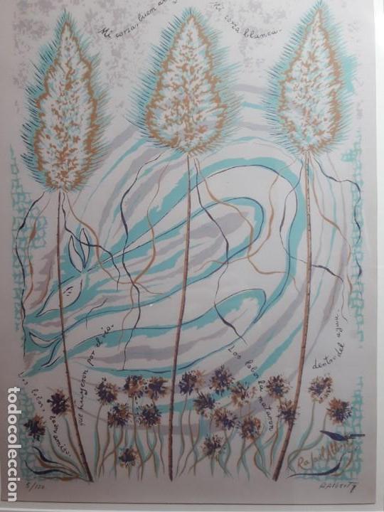 Arte: Xilografia numerada de Rafael Alberti - Foto 2 - 142884654
