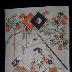 Arte: GRABADO JAPONES. Lote 144009450