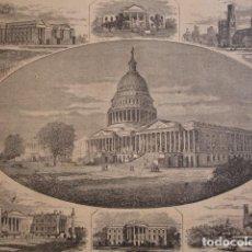 Arte: WASHINGTON. AÑO 1880. Lote 147429218