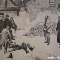 Arte: EL CAREO ENRIQUE SCHLITT . AÑO 1880. Lote 147429314