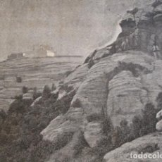 Arte: BARCELONA MATADEPERA SAN LORENZO DEL MUNT. AÑO 1880. Lote 147456182