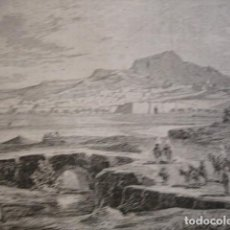 Arte: VISTA DE TUNEZ . AÑO 1880. Lote 147456286