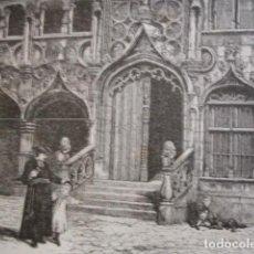 Arte: BRUJAS, CAPILLA SANGRE SAGRADA. AÑO 1880. Lote 147456630