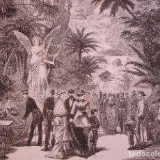 Arte: HANNOVER JARDIN DE ROPKE. AÑO 1880. Lote 147456786