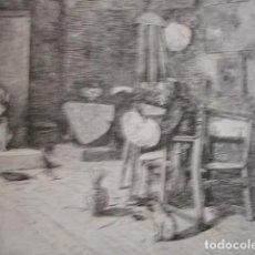 Arte: RETABLO DE UN SULTAN GOMEZ SOLER . AÑO 1880. Lote 147460506
