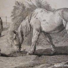 Arte: CONVALECIENTE . AÑO 1880. Lote 147460594