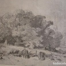 Arte: ORILLAS DEL LLOBREGAT GERONA, PAHISA . AÑO 1880. Lote 147460706